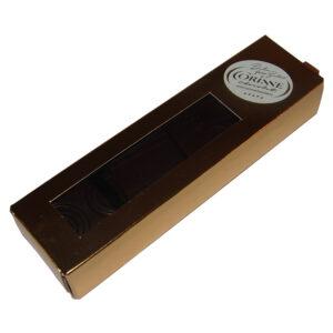 Cutie tablete din ciocolata neagra cu ulei esential de simpla 16 bucati 75 grame