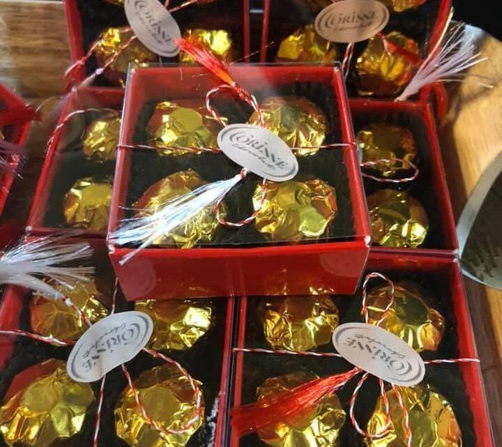 martisor din ciocolata mini-matero