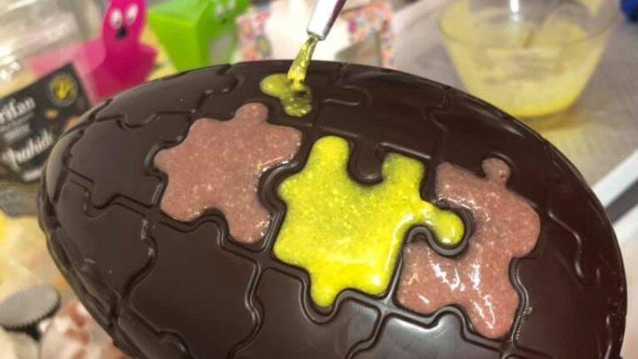 oua de paste din ciocolata
