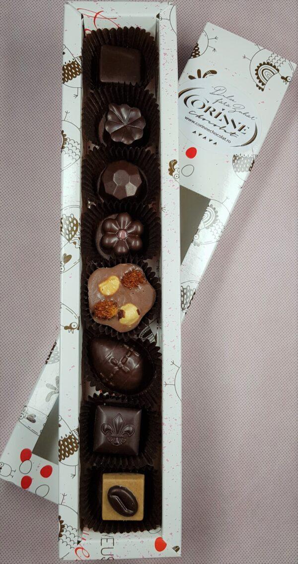 DULCIURI DIN CIOCOLATA VEGANA cutie bomboane sarbatori de paste
